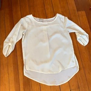 Tops - Cream blouse